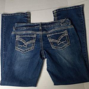 Amethyst Women's Stretch Blue Jeans Size 11